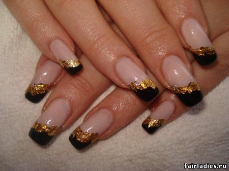 восточный дизайн ногтей:
